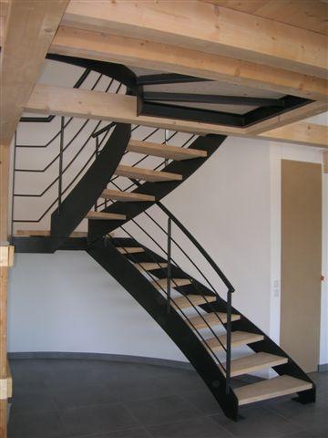 Escalier acier annecy