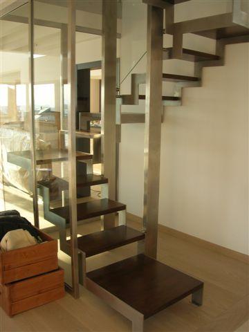 Escalier inox annecy