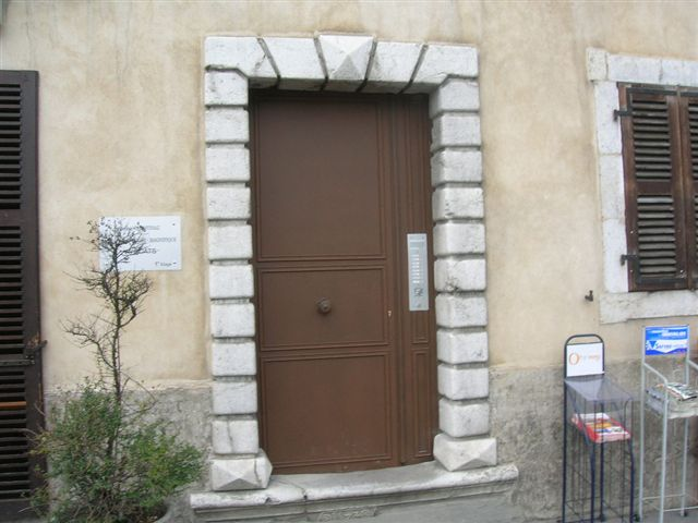 Porte acier annecy