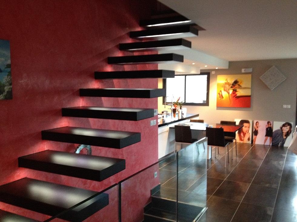 Fabricant escalier sur mesure a Thones